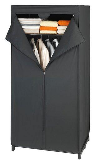 WENKO Kleiderschrank »Deep Black mit Ablage«