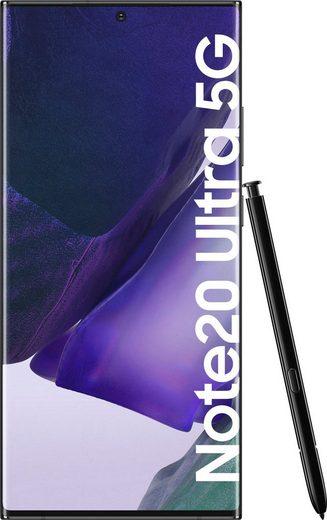 Samsung Galaxy Note20 Ultra 5G Smartphone (17,45 cm/6,9 Zoll, 256 GB Speicherplatz, 108 MP Kamera, 3 Jahre Garantie)