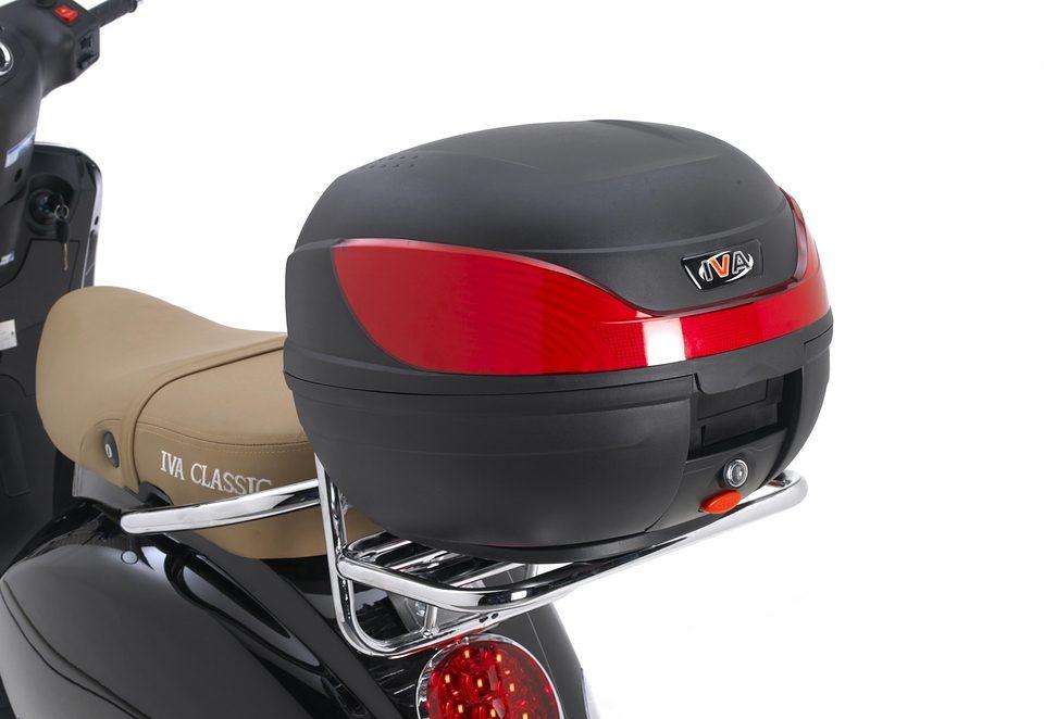 Universal-Topcase, für Motorroller und Mofaroller der Marke IVA
