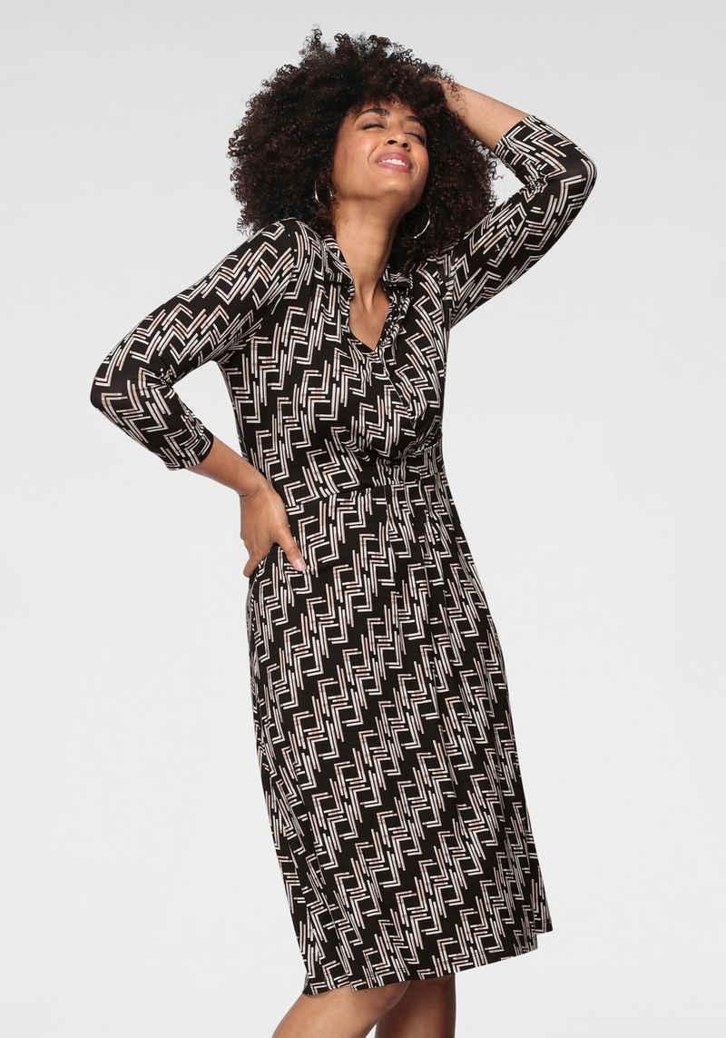 GERRY WEBER Jerseykleid mit grafischem Muster