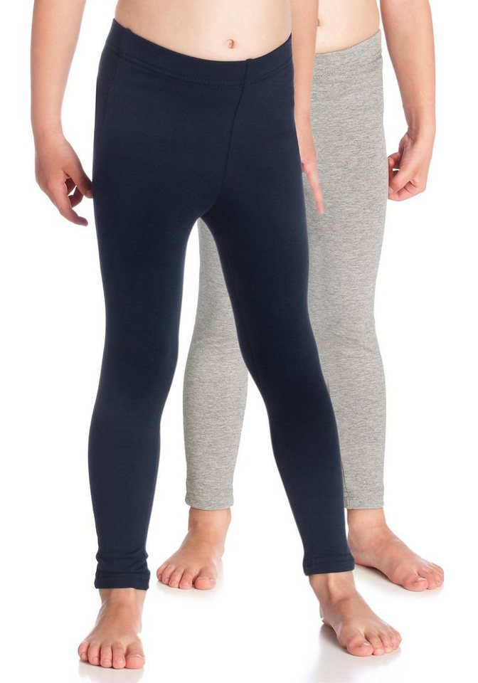 CFL Leggings (Packung, 2 tlg.) in blau-grau