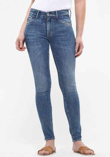 Le Temps Des Cerises Skinny-fit-Jeans »POWER HIGH« im Used-Look