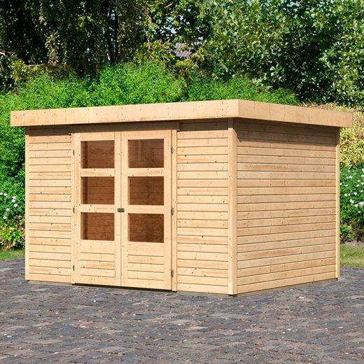 KARIBU Gartenhaus »Arnis 5«, BxT: 330x262 cm