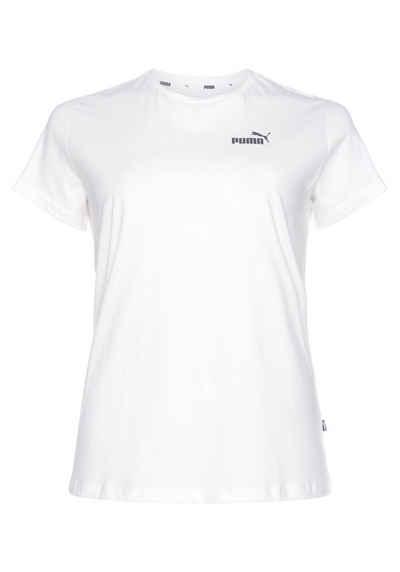 PUMA T-Shirt »ESS Small Logo Tee PLUS«