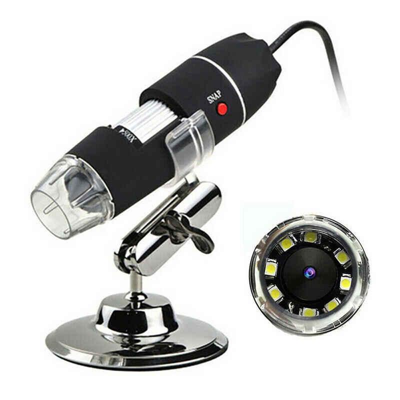 Gotui »USB-Mikroskop« Digitalmikroskop (Digitaler Lupen-Endoskop-Camcorder mit 8LED, 1000X Zoom HD 1080P)