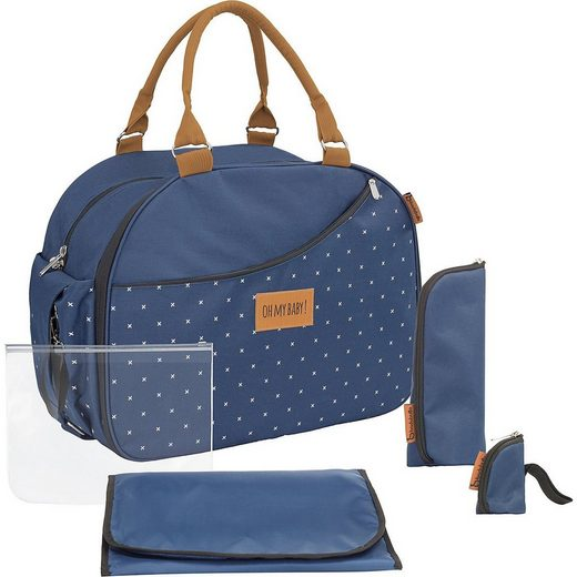 badabulle Wickeltasche »Wickeltasche Weekend, Dark blue«