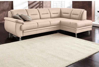 ledercouch beige. Black Bedroom Furniture Sets. Home Design Ideas
