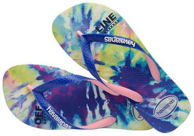 Havaianas »TOP FASHION« Zehentrenner mit coolem Batik-Print