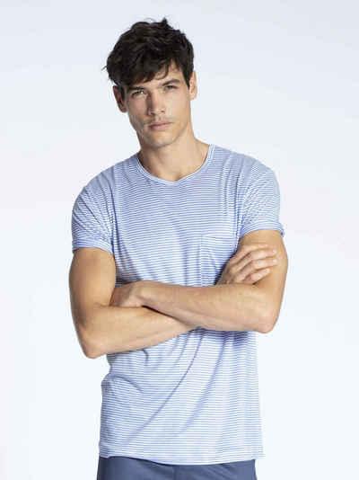 CALIDA Kurzarmshirt »T-Shirt, Rundhals, Compostable« (1-tlg) Made in Europe