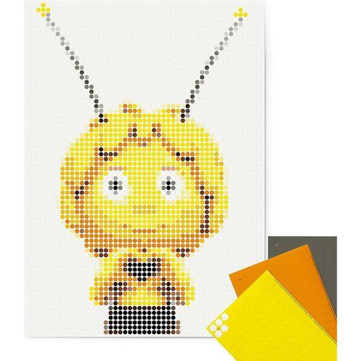 Dot On Malvorlage »dot on art - biene maja - maja, 50 x 70 cm«