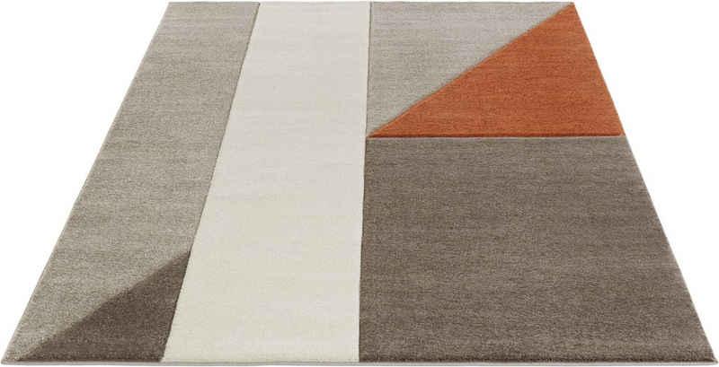 Teppich »Nour«, Guido Maria Kretschmer Home&Living, rechteckig, Höhe 14 mm, mit Konturenschnitt