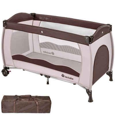 tectake Baby-Reisebett »Kinderreisebett«