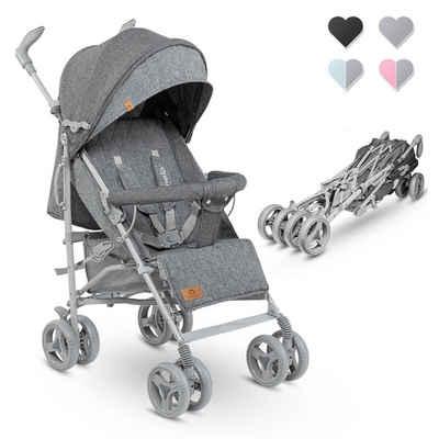 lionelo Kinder-Buggy »IRMA«, sehr leichte, Beindecke, Moskitonetz, Regenschutzfolie, Großer Korb /ab 6 month bis 5 Jahre