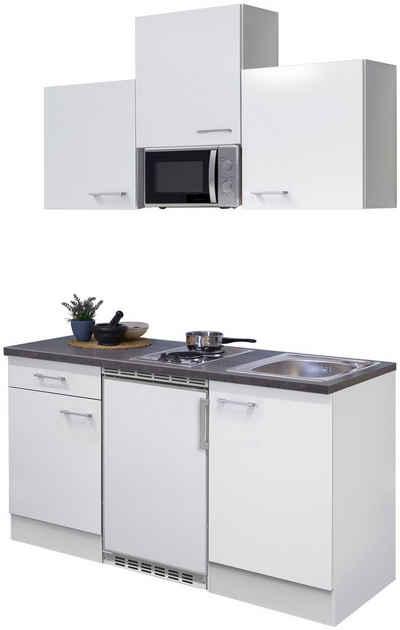 Flex-Well Küchenzeile »Lucca«, mit E-Geräten, Gesamtbreite 150 cm