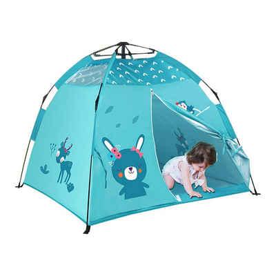 Arkmiido Spielzelt »Kinder spielen Zelt Automatic Folding Instant Beach Sun Shelter für Kinder« Tipi Zelt für Kinderzimmer oder im Garten