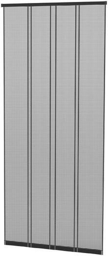 HECHT Insektenschutz-Vorhang »COMFORT«, anthrazit/schwarz, BxH: 100x220 cm