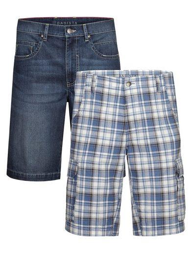 Babista Jeansbermudas im 2er Pack Jeansbermuda und Cargobermuda