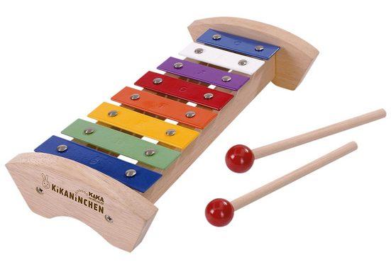 Spielzeug-Musikinstrument »Xylophon«, KiKANiNCHEN Holz-Xylophon