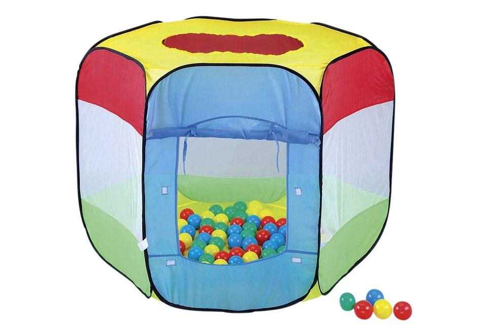 Spielzelt und Bällebad, knorr toys
