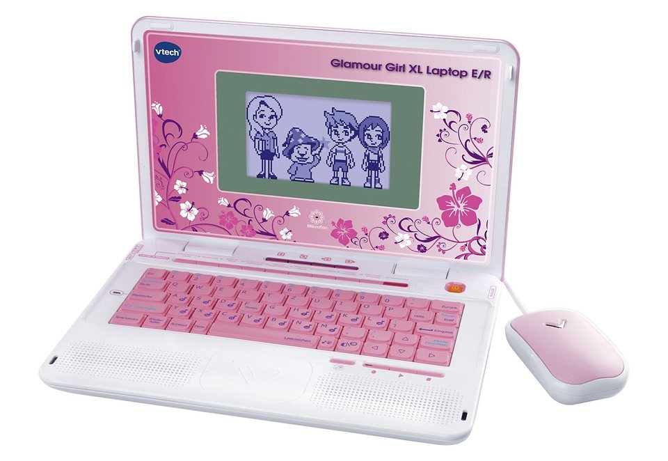 vtech laptop glamour girl xl e r online kaufen otto. Black Bedroom Furniture Sets. Home Design Ideas