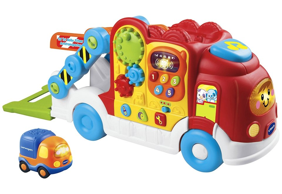 vtech autotransporter bunt tut tut baby flitzer online. Black Bedroom Furniture Sets. Home Design Ideas