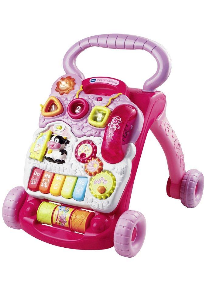 VTech Spiel- u. Lauflernwagen, pink oder bunt in pink