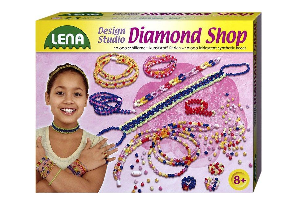 LENA® Schmuck Bastelset »Diamond Shop« in rosa