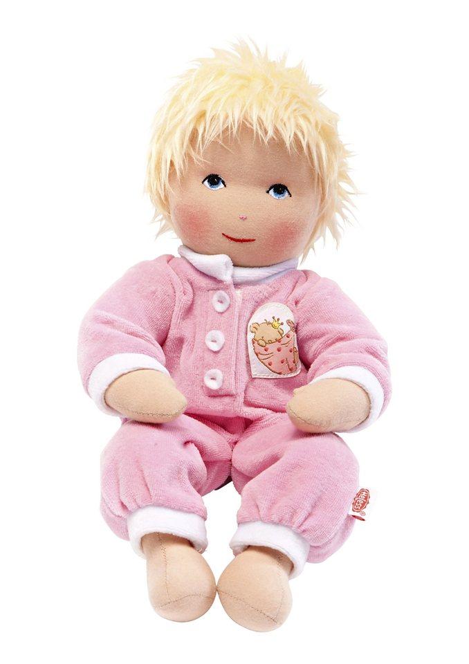 Heless® Weichkörperpuppe Größe 32 cm o. 42 cm »Baby Lena« in rosa