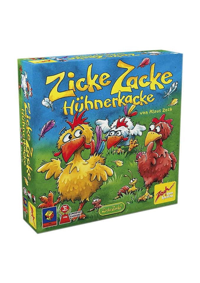 Zoch Spiel, »Zicke Zacke Hühnerkacke«, Made in Germany