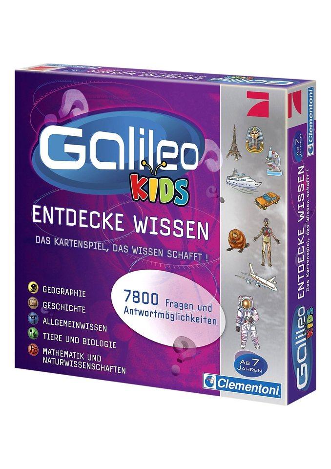 Galileo Kids, Clementoni in rot