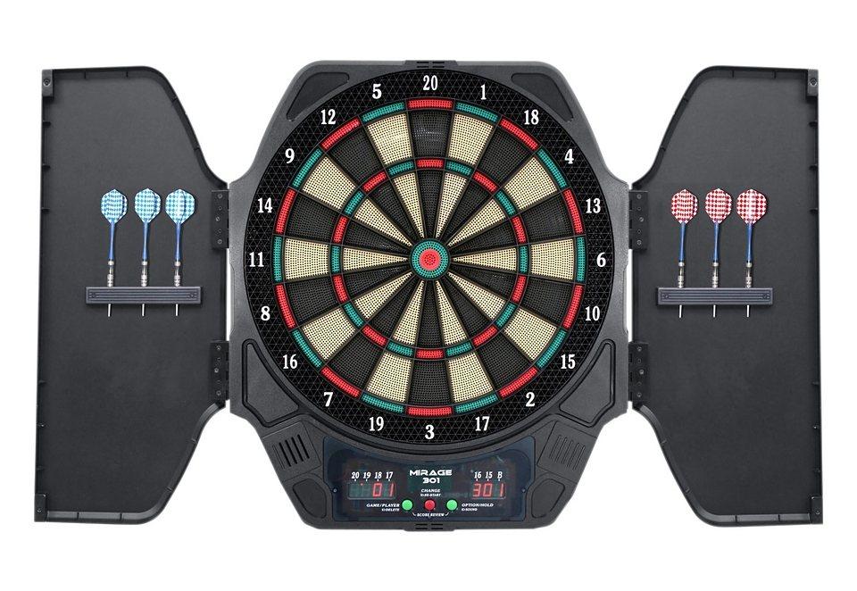 Elektronisches-Dartboard, »Mirage 301 Cabinet«, CARROMCO