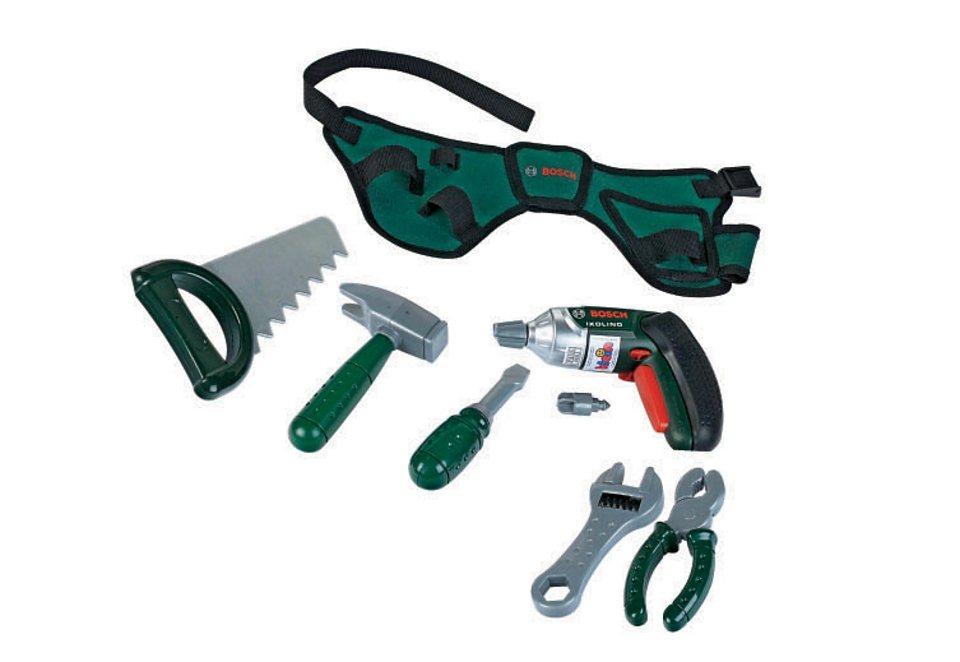 Klein Werkzeuggürtel für Kinder »Bosch« in grün