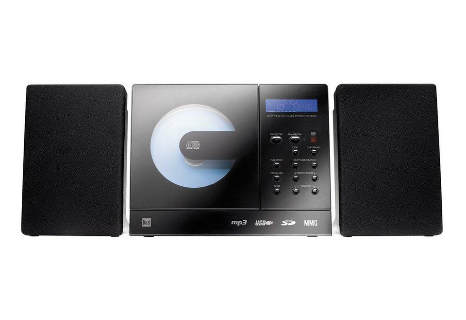 DUAL Vertical 150 Audio-System für Stand- und Wandmontage in schwarz