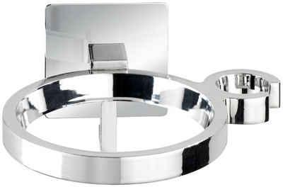 WENKO »Turbo-Loc Quadro« Haartrocknerhalter, (Turbo-Loc®-Wandbefestigungssystem ohne Bohren)