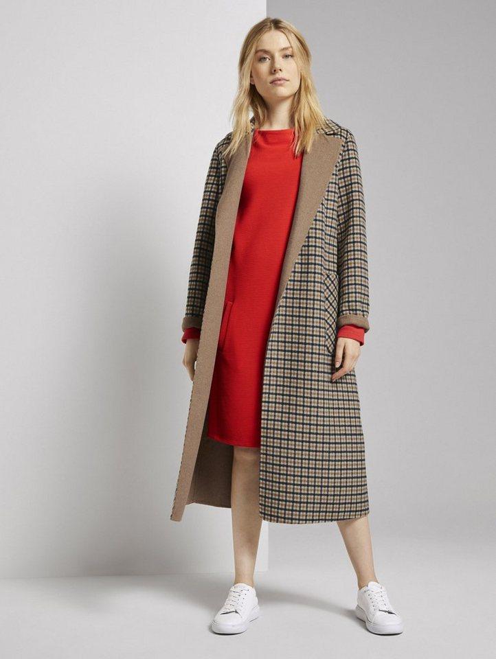 tom tailor -  Maxikleid »Bequemes Kleid mit Stehkragen«