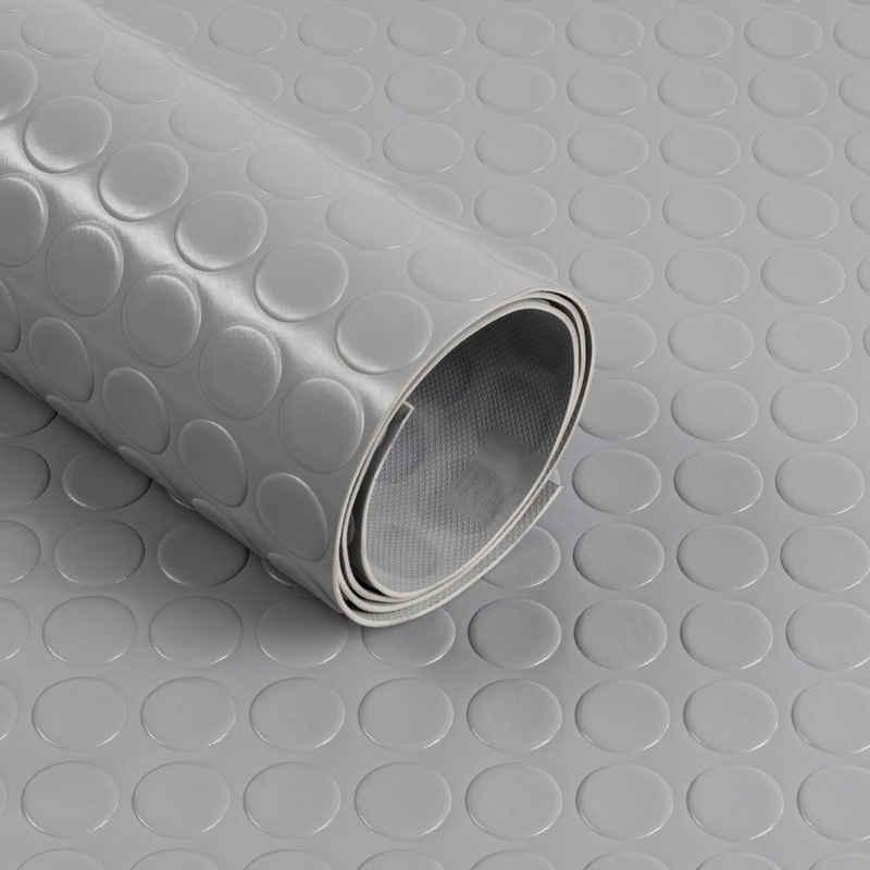Kubus Bodenschutzmatte »PVC-Bodenbelag, Große Noppen, Stärke 2mm«