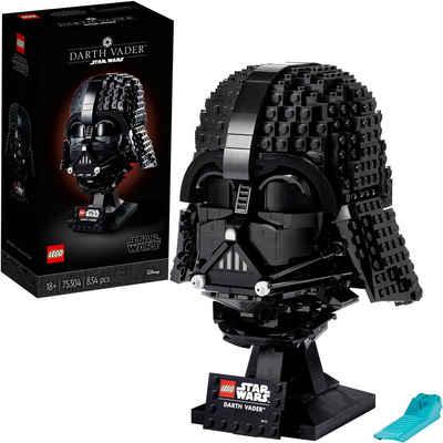 LEGO® Konstruktionsspielsteine »Darth-Vader™ Helm (75304), LEGO® Star Wars™«, (834 St), Made in Europe