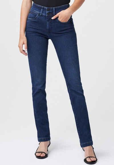 Salsa Slim-fit-Jeans »Secret« denim, Slim, Hohe Taille, Jeans