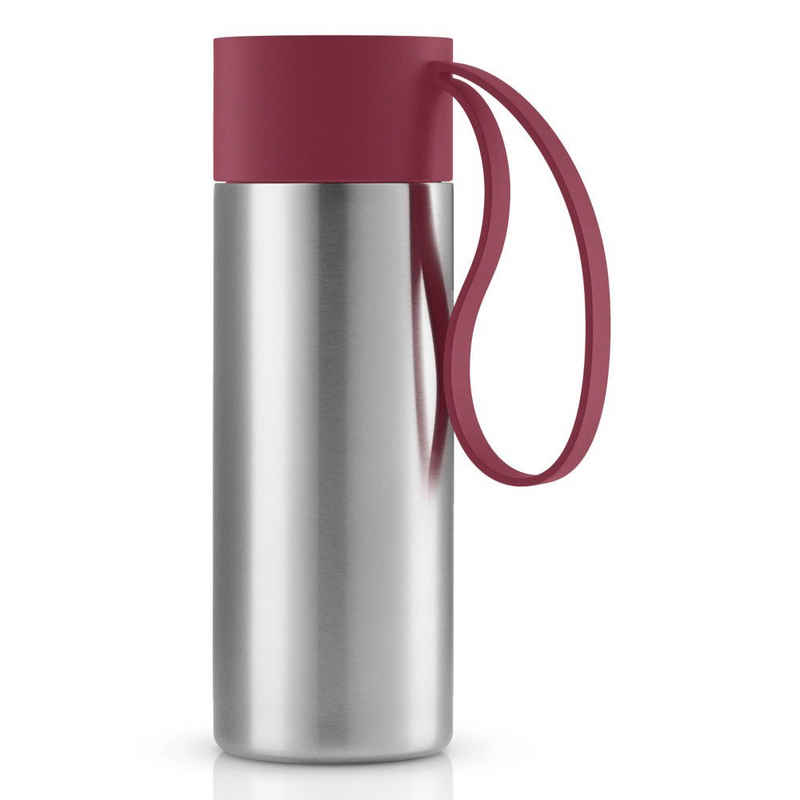 Eva Solo Coffee-to-go-Becher »To Go Cup Pomegranate 350 ml«, Edelstahl