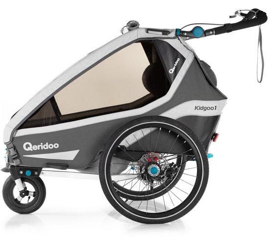 Qeridoo Fahrradkinderanhänger »KIDGOO 1 SPORT« | OTTO