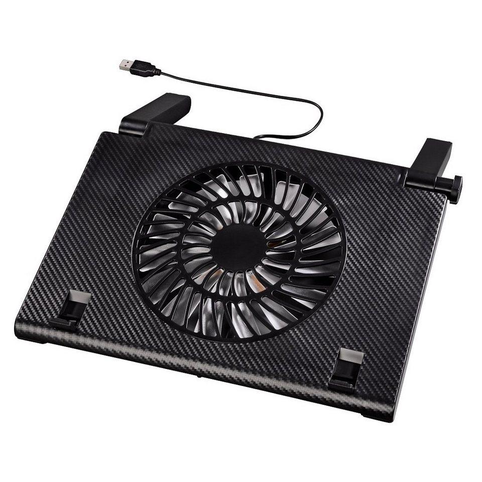 Hama Notebookkühler geeignet für Notebooks von 13,3 Zoll bis »15,6 Zoll, extra flach« in Schwarz