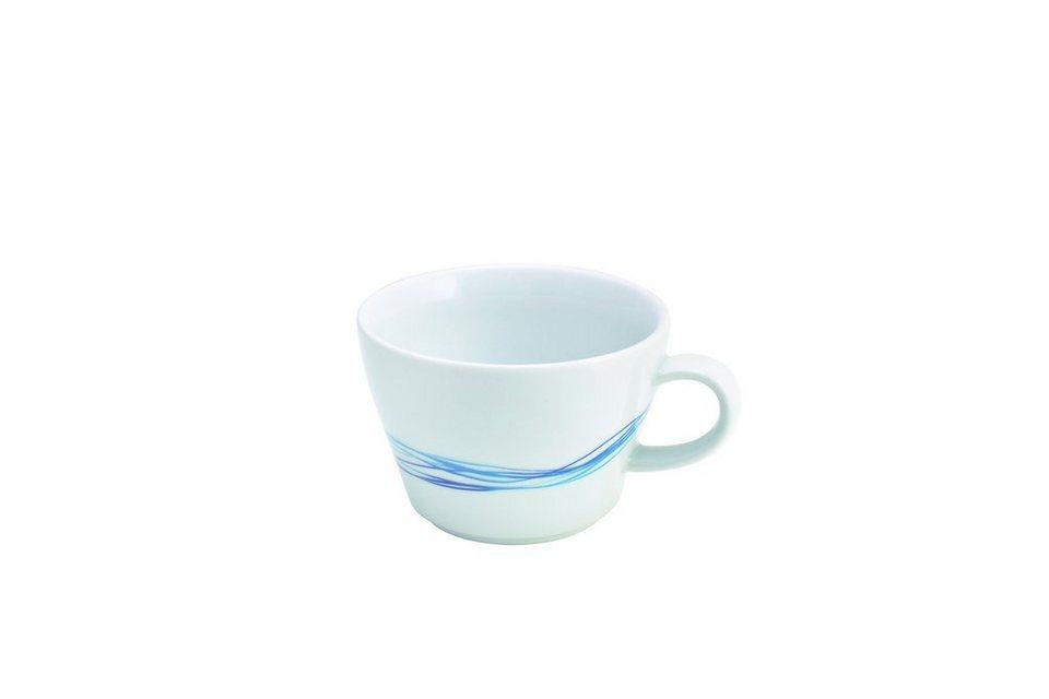 Kahla Cappuccino-Obertasse »Five Senses Whirl« in Blau, Türkis