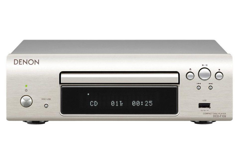 Denon DCD-F109 CD-Player in Premium Silber