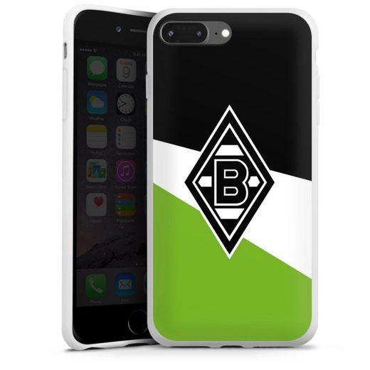 DeinDesign Handyhülle »Borussia Schwarz-Weiss-Grün« Apple iPhone 7 Plus, Hülle Borussia Mönchengladbach Gladbach Offizielles Lizenzprodukt