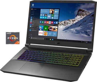 Acer AN517-41-R6U1 Notebook (43,84 cm/17,3 Zoll, AMD Ryzen 7 5800H, GeForce RTX 3060, 1000 GB SSD, Kostenloses Upgrade auf Windows 11, sobald verfügbar)