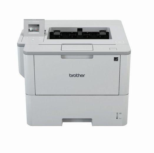 Brother Professioneller Laserdrucker für Arbeitsgruppen Laserdrucker, (LAN (Ethernet), WLAN (Wi-Fi)