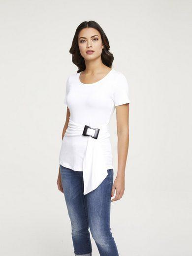 Shirt mit Gürtel
