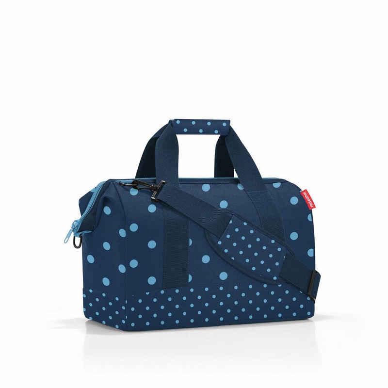 REISENTHEL® Reisetasche »allrounder M Mixed Dots Blue 18 L«