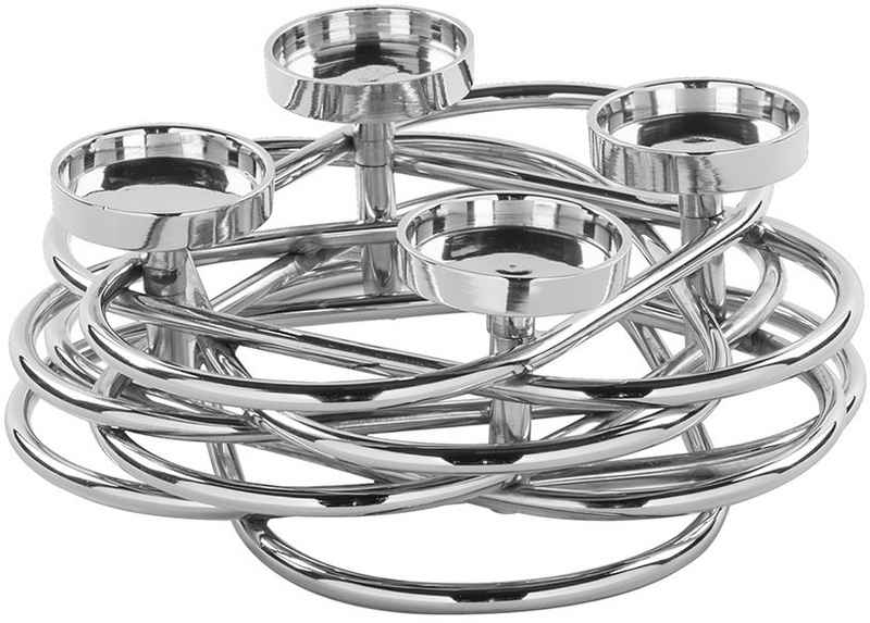 Fink Adventsleuchter »Duplex« (1 Stück), 4-flammiger Kerzenhalter im eleganten Design