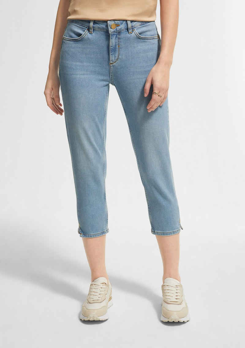 Comma 7/8-Jeans »Skinny Fit: Capri aus Jeans« Waschung